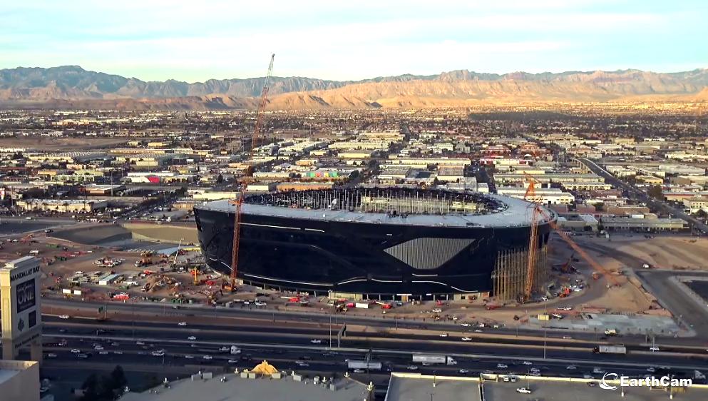 Nuevo estadio de los Raiders de Las Vegas