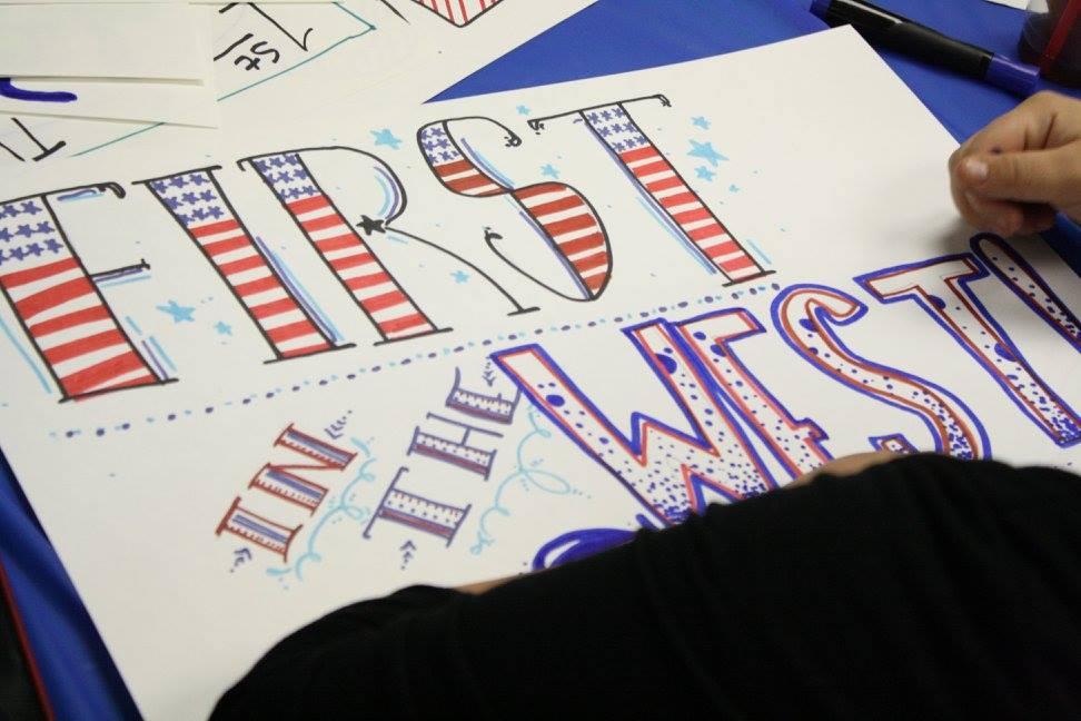 Nevada Caucus Sign