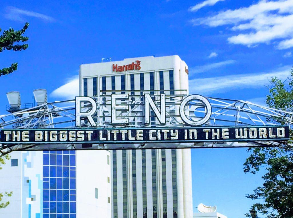 Arco original Reno con Harrah's