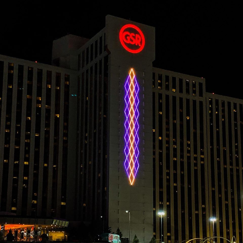 Grand Sierra lights for Kobe Bryant
