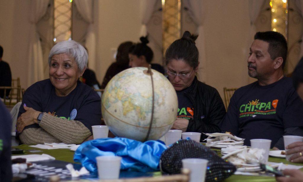 El grupo de votantes latinos de Chispa Nevada.