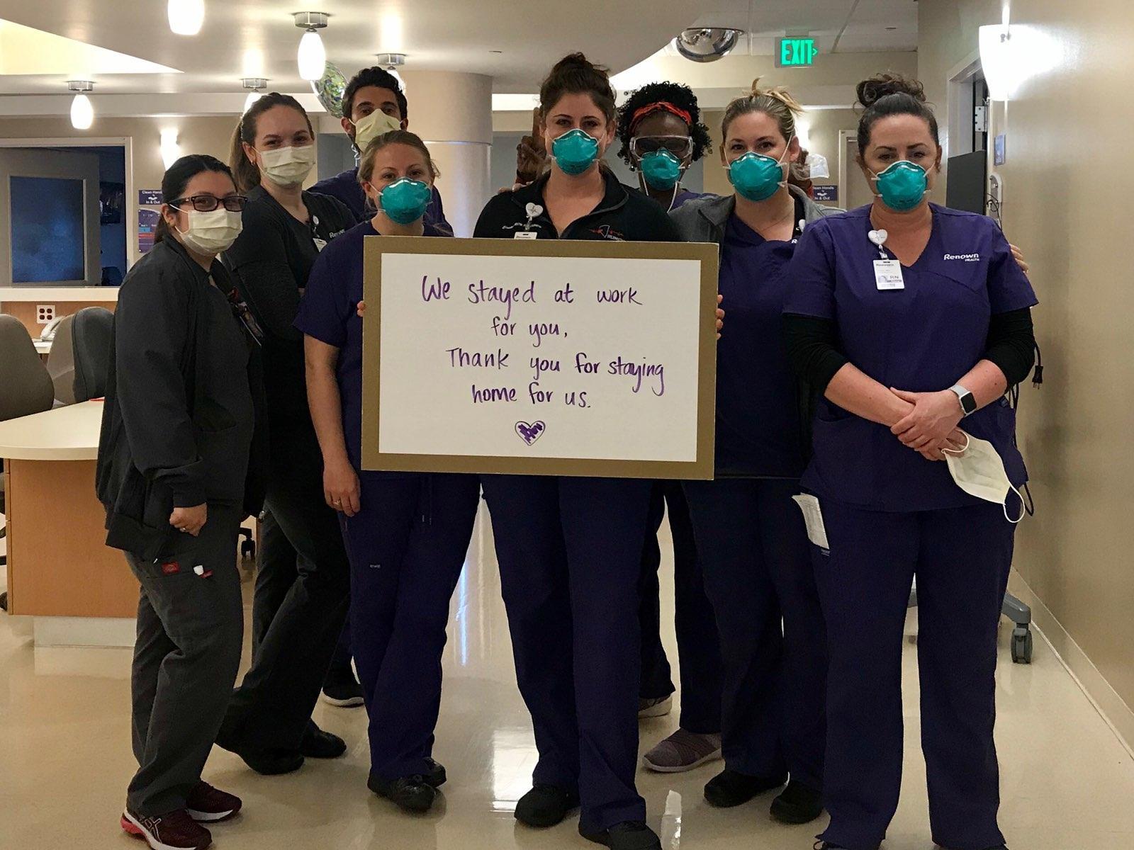 enfermeras hospital renown