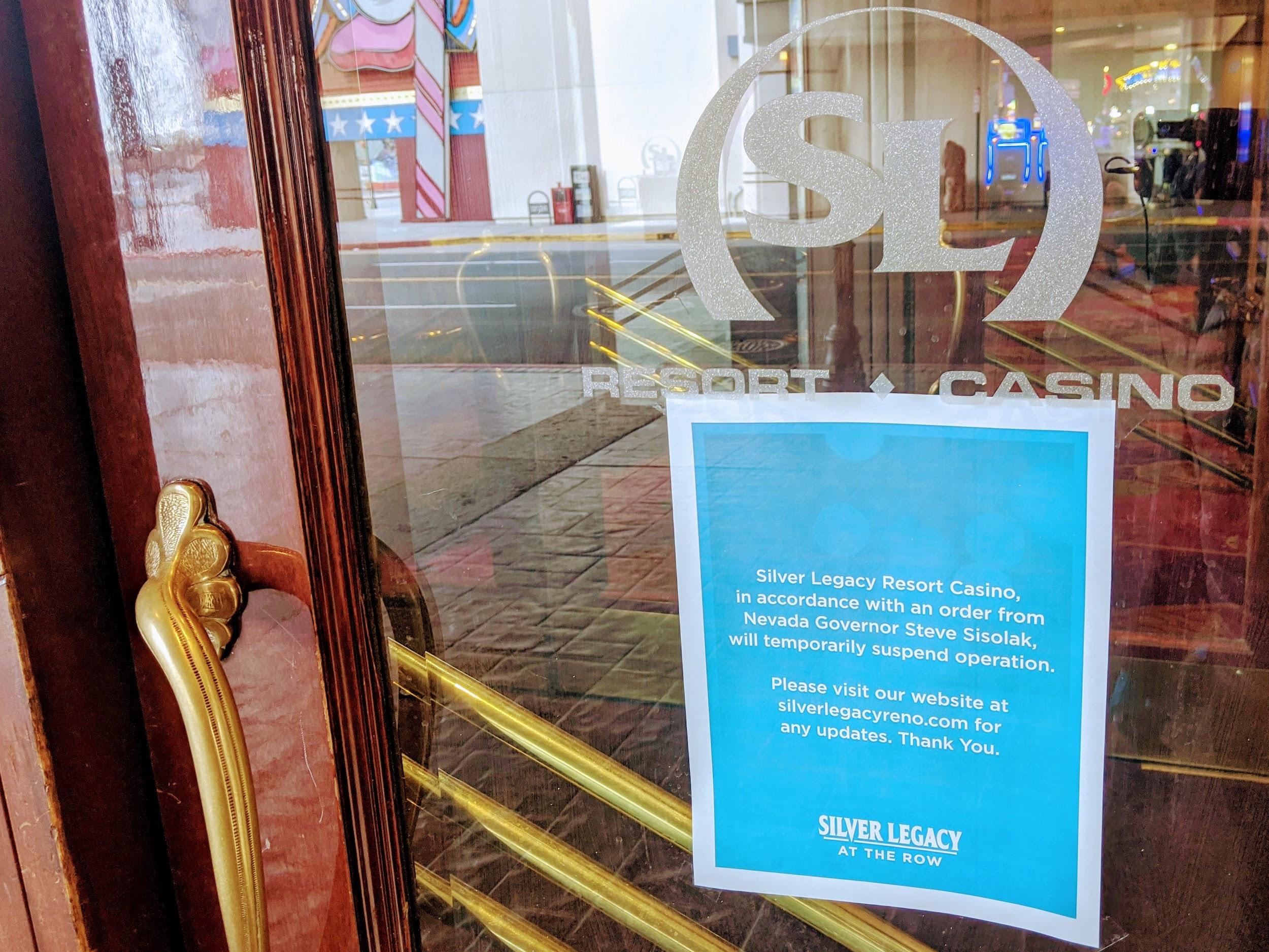 afiche casino silver legacy cierre
