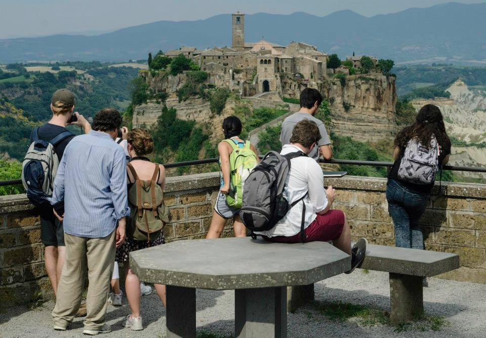 Los estudiantes de UNR en Italia.
