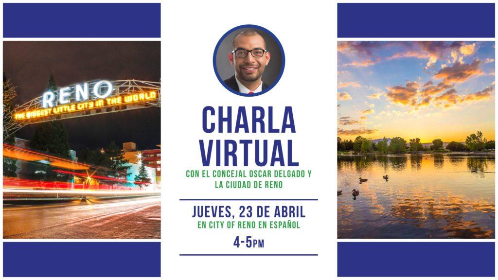 Oscar Delgado dará charla sobre COVID-19
