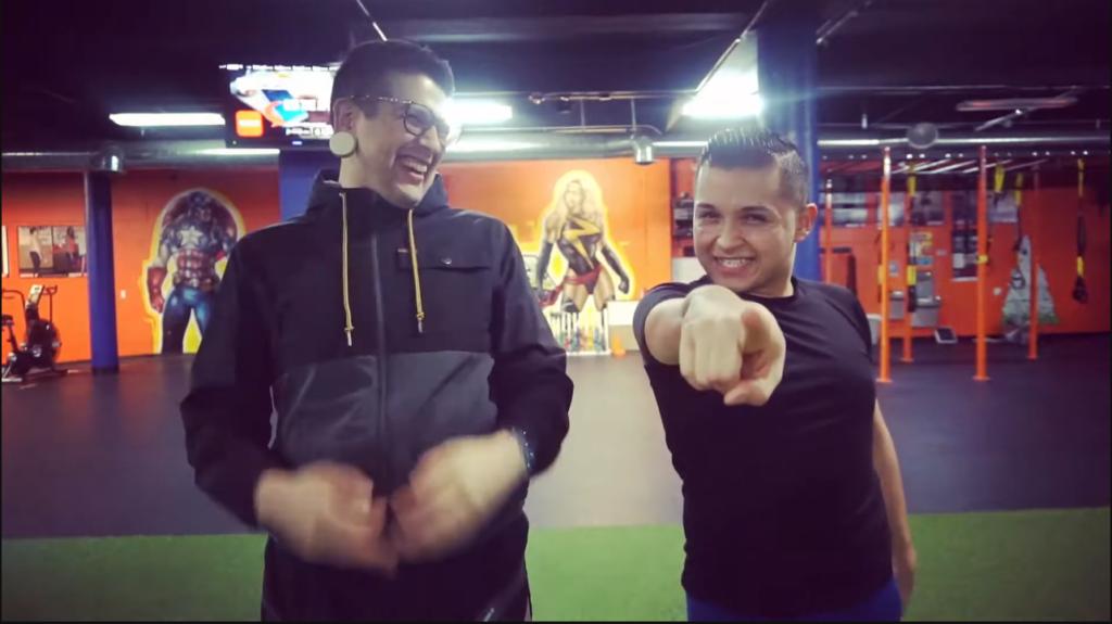 Instructores de Zumba Javi y Dan