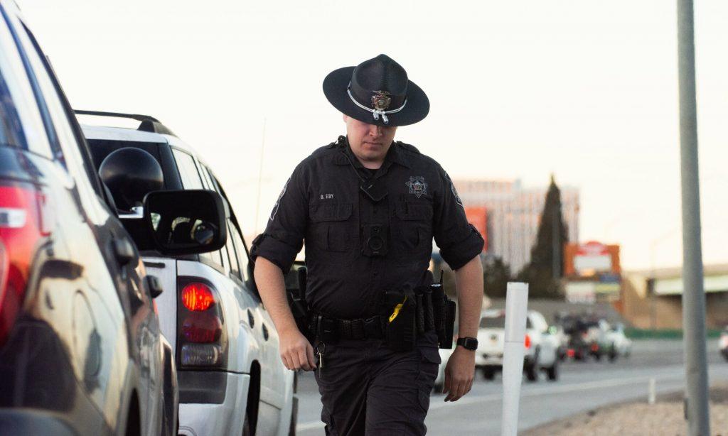 Un policía de Reno