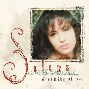 portada con imagen de Selena